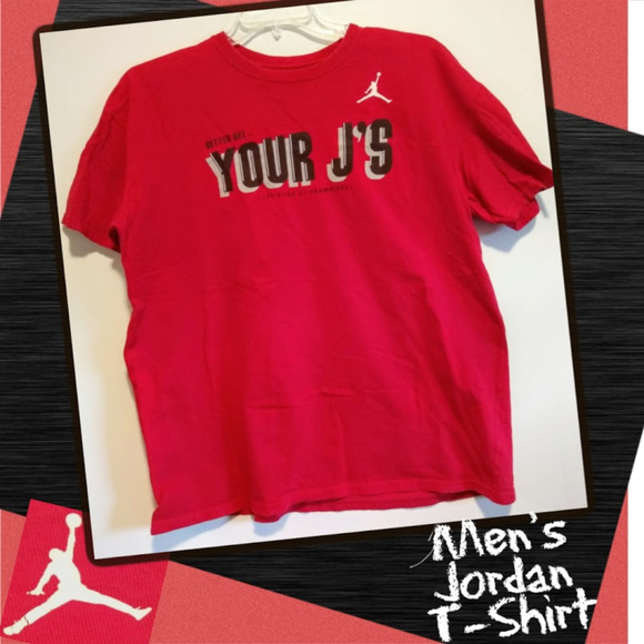 Nike Other - Air Jordan Basketball Cotton Short Sleeve T-Shirt